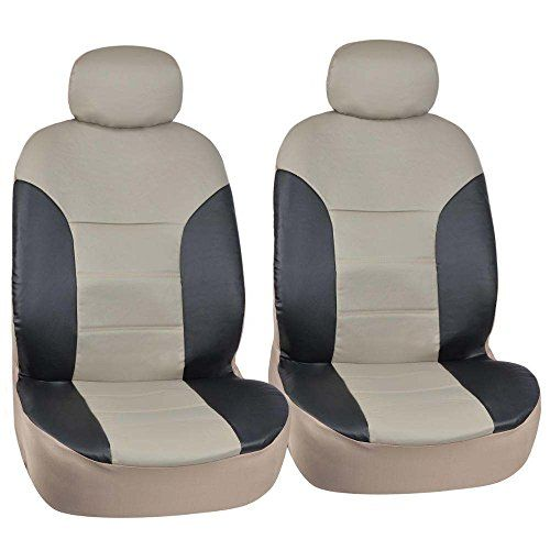 Motor Trend Black/Beige Two Tone PU Leather Car Seat Covers - Classic Accent - Premium Leatherette - Front Pair - http://www.caraccessoriesonlinemarket.com/motor-trend-blackbeige-two-tone-pu-leather-car-seat-covers-classic-accent-premium-leatherette-front-pair/  #Accent, #BlackBeige, #Classic, #Covers, #Front, #Leather, #Leatherette, #Motor, #Pair, #Premium, #Seat, #Tone, #Trend #Interior, #Seat-Covers