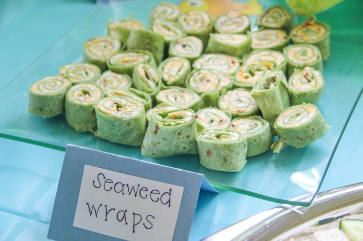 "Seaweed Wraps - ""O-FISH-AL"" Adoption Finalization Party!!"