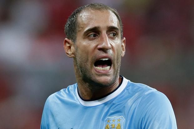 Pablo Zabaleta #MCFC - A solid established part of the City defense. Made the right back position his own and sealed with a new contract. Provided a few assists so far despite a bad game against Cardiff, the Argentinian makes my XI.