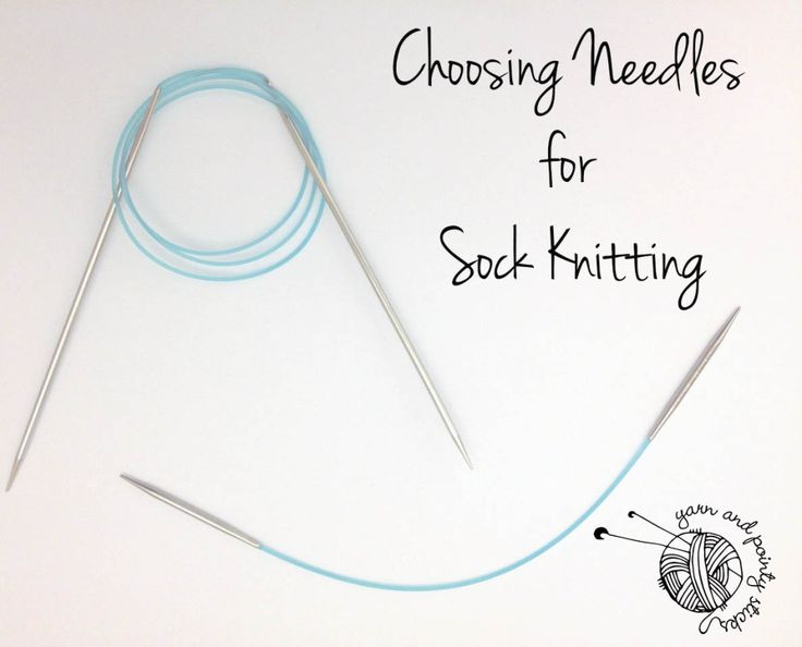 Choosing Needles For Sock Knitting. Round up of the various socks needles. Hints and tips for making the right choice for you. #knitting #socks #socksurgery