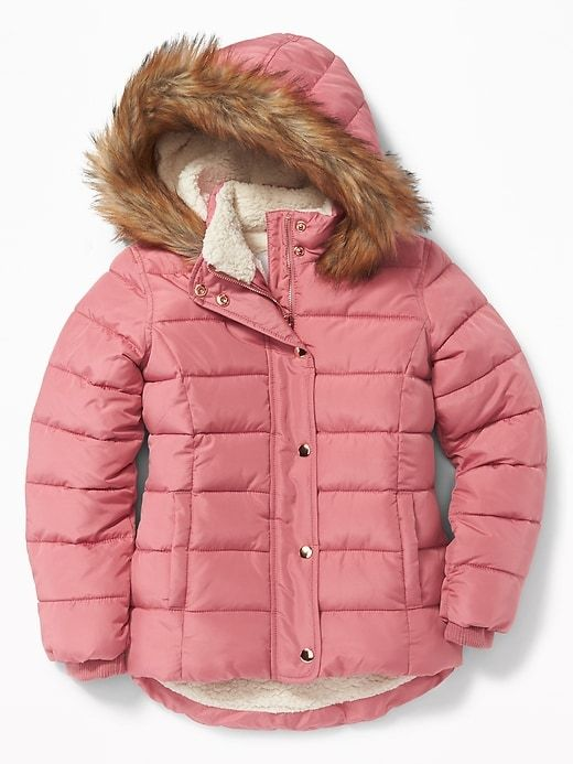 4703b165c594 Frost-Free Puffer Jacket for Girls