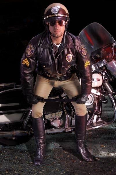 from Harold cop gay motorcycle