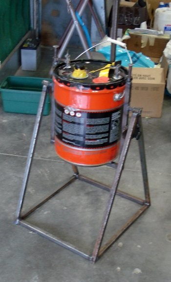 Miller - Welding Projects - Idea Gallery - Bucket Canter
