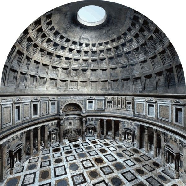 Construction Concrete Dome Home: Ancient Roman Architecture Dome