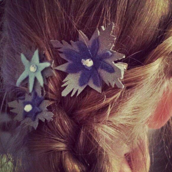 Frozen hair clips