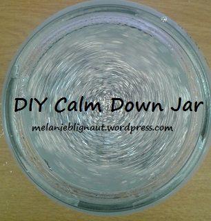 DIY Calm Down Jars