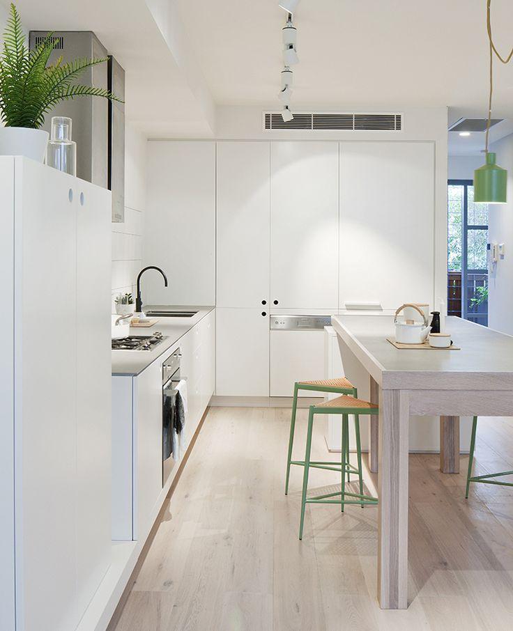 Mejores 85 imágenes de Cocinas Blancas en Pinterest | Cocinas ...