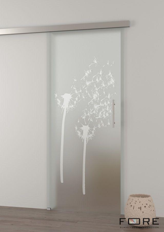 Drzwi szklane przesuwne Dandelion, glass doors, www.fore-glass.com, #drzwi #drzwiszklane #drzwiwewnetrzne #szklane #glassdoor #glassdoors #interiordoor #glass #fore #foreglass #wnetrza #architektura
