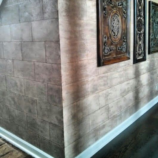 Cassy Wedell.  #faux Extraordinary Wall Designs