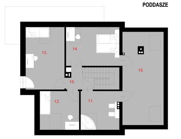 Wybieramy Projekty Domow Do 150 M2 Projekty Gotowe Z Kosztorysem Floor Plans Home