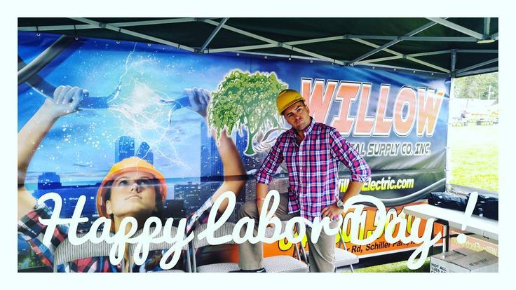 Happy Labor Day weekend everybody!  #willow #willowelectrical #willowelectric #electrician #weekend #holiday #labor #laborday #usa #chicagoelectricalsupply #relax #me #instagram #remodel #construction #builder #summer #fall #instapic #pic #sparky #electrician