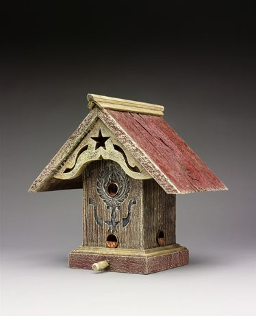 Cute bird houses and feeders from old barn wood