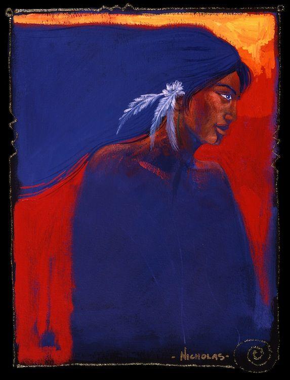 Maori Girl by Darcy Nicholas kp