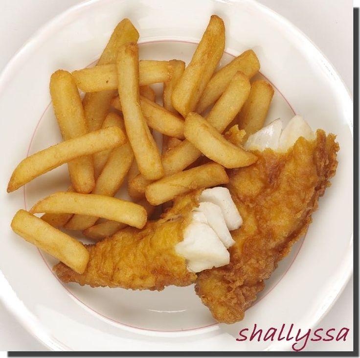 Panure sans gluten pour poisson pané (''Fish n' Chips'')