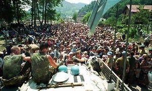 Srebrenica massacre: Dutch soldiers let 300 Muslims die, court rules | World news | The Guardian