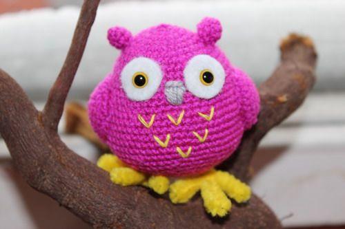 Вязаная сова | Амигурумик