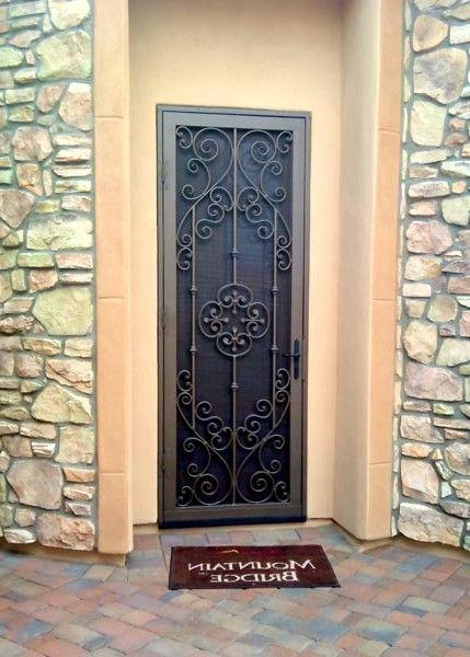 Unique Home Designs Security Door Beauteous Design Decoration