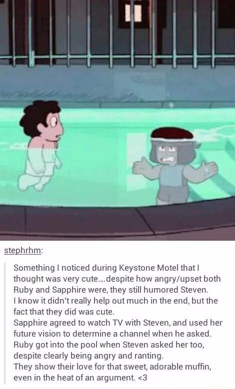 It's odd to think that Pearl is the only gem who *didn't* when she was under stress.