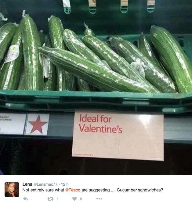 La marca de Supermercado Tesco apuestar por los pepinos y las citas a ciegas para animar a sus clientes a celebrar San Valentín. En Españala fiesta de San Valentín se empezó a celebrar a mediados ...