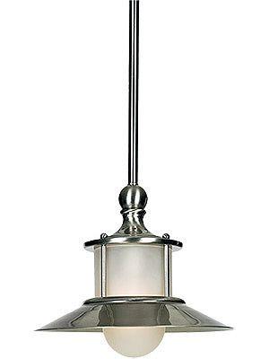 Pendant Light Fixtures. New England Pendant in Brushed Nickel http://houseofantiquehardware.com/Shop-by-Style/Art-Deco-Interior-Lighting/pendant-light-fixtures-new-england#