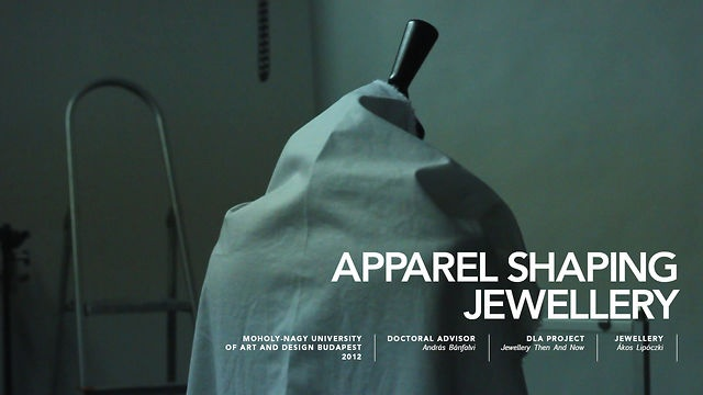APPAREL SHAPING JEWELLERY - IN PRACTICE on Vimeo