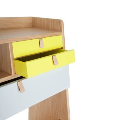 HEIMATDESIGN SHOP - Gaston grau gelb 2421