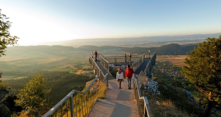 Hohe Wand Nature Park with its amazing view from the Skywalk