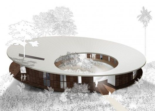 FUNDECOR New Headquarters Proposal (1): Archie Models, Architecture Drawings, Circular Building, Art Architecture, Google Search, Buildings, Moov, Headquart Proposals, Architecture Models