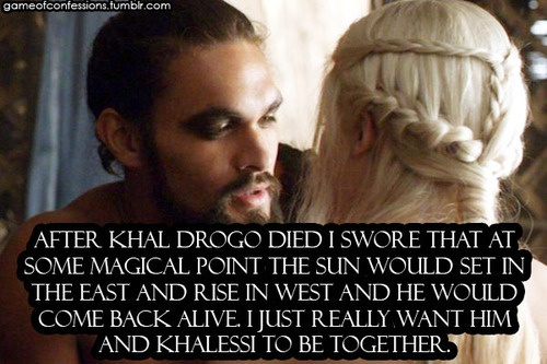 drogo and daenerys first meet quotes