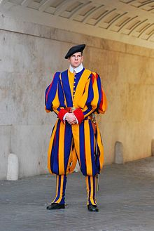 Swiss guards in the Vatican City, 2010 - Swiss Guard