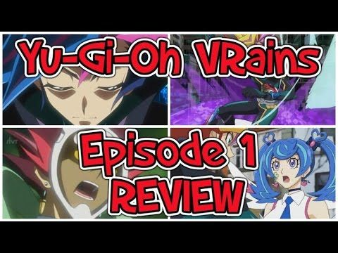 Yu-Gi-Oh VRains: Episode 1 REVIEW - YouTube