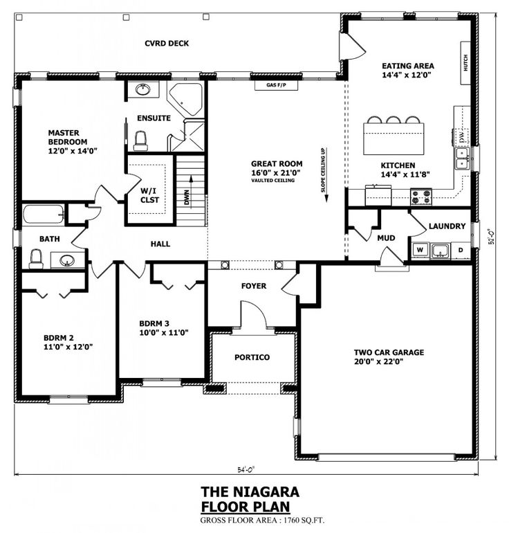 The 25 best bungalow house plans ideas on pinterest for Garage plans ontario