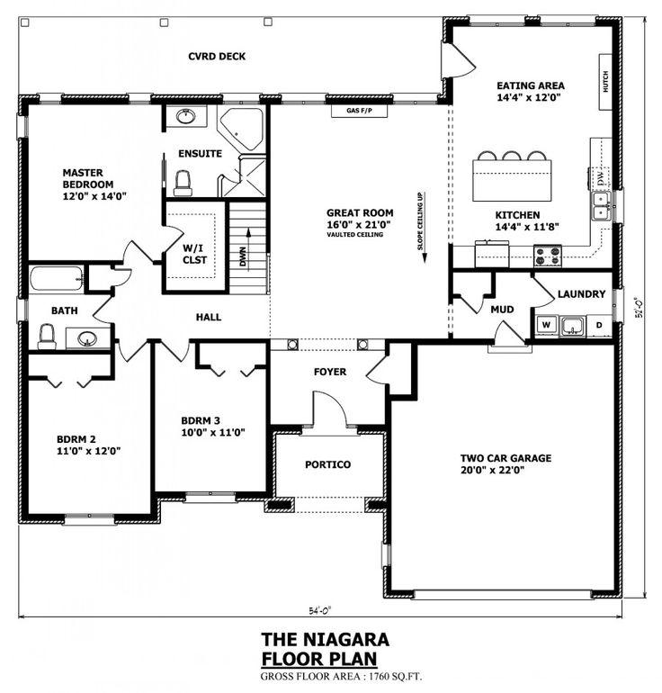 Best 25+ Bungalow house plans ideas on Pinterest | Cottage ...
