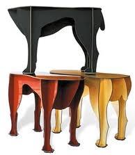 oggetti e mobili di ispirazione zoomorfa sgabelli cane