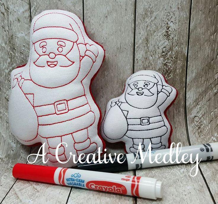 Doodle Its Santa – A Creative Medley