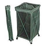 ABC Products  Fold-Up  Reusable Lawn Leaf  Holder Stand  More Then a Leaf Bag Holder Trash Bag Recycle Bin Grass Clippings And More  Can Used With Other Plastic Bags