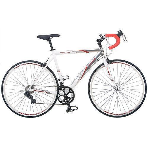 56 cm mens road bike bicycle schwinn silver white entry level 700c shimano >>> You can find more details by visiting the image link.