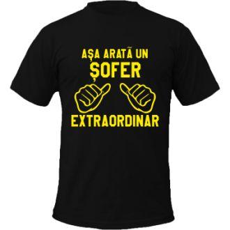 Avem vreun #sofer extraordinar pe aici? | #tricou #tricouri #tricouripersonalizate