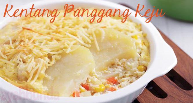 Kentang Panggang Keju :: Baked Potato Cheese :: Klik link di atas untuk mengetahui resep kentang panggang keju