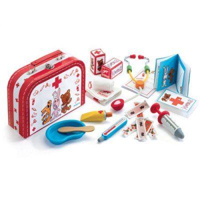 Djeco doktersset  en koffertje Bobodoudou #speelgoed #benjaminbengel