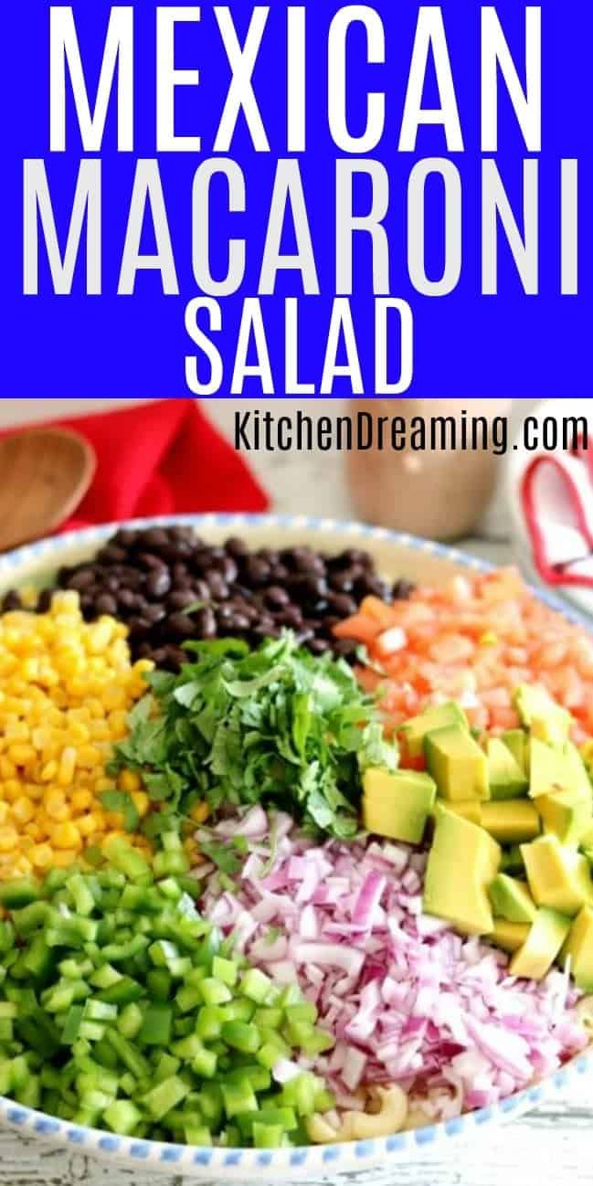 Mexican Macaroni Salad   – Recipes