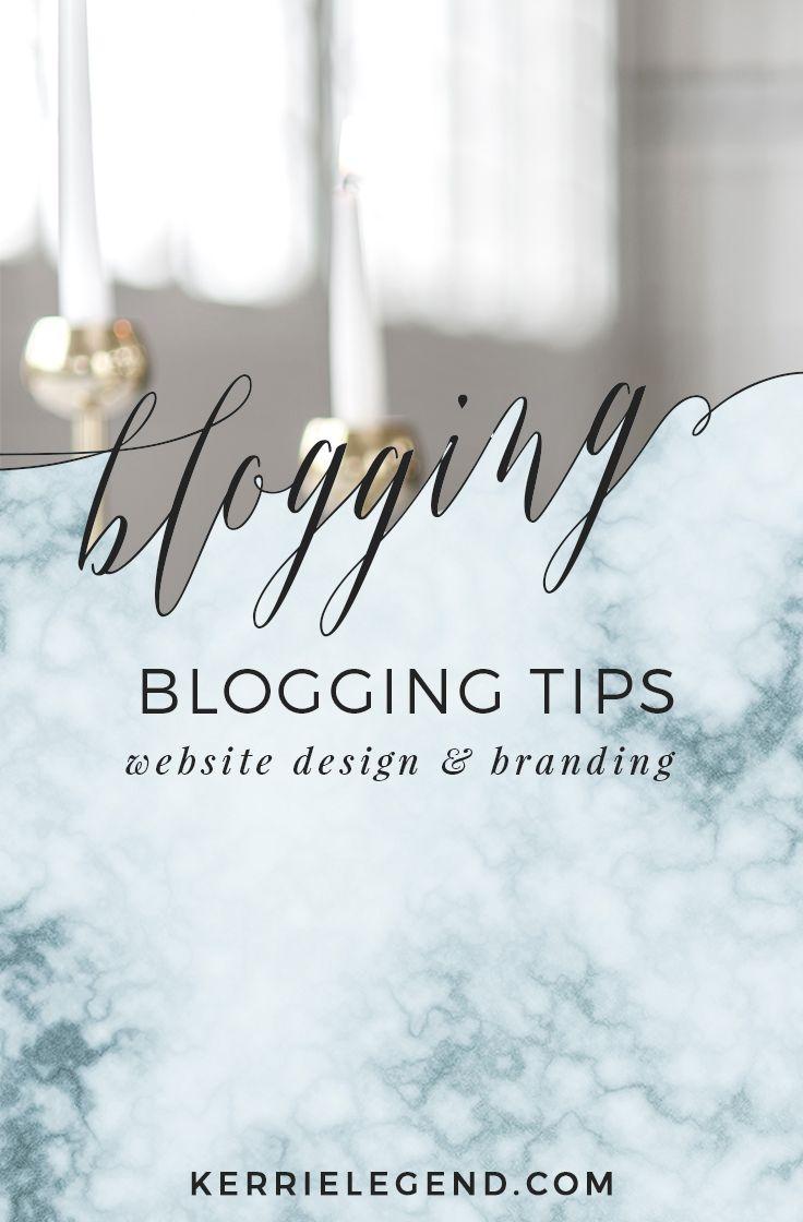 Blog tips, website design, branding, style, color and content marketing. #contentmarketing #blogging