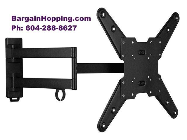 26-47 inch Full Motion Articulating Swivel TV Bracket Wall Mount Vancouver Burnaby Surrey
