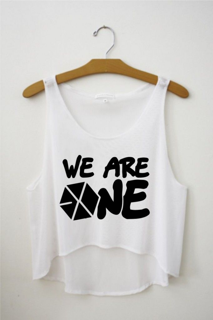 exo we are one croptop