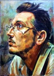 Autoportret Călin Bogătean Dimensiune: 50 x 70 x 2 cm.    Tehnica : ulei pe panza     Anul execuției: 2015 mai  Autor Călin Bogătean     Web-sit   http://www.calinbogatean.com/ http://picturacalinbogatean.ro