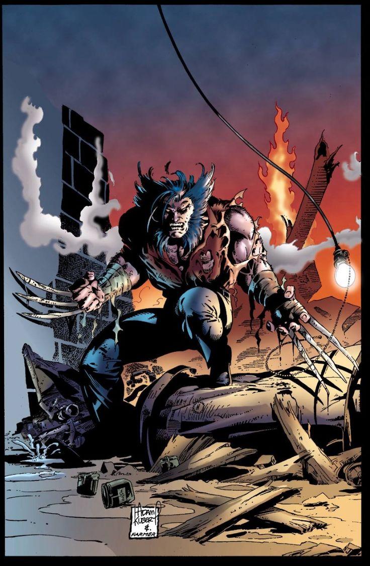 Wolverine (Bone Claws) by Adam Kubert