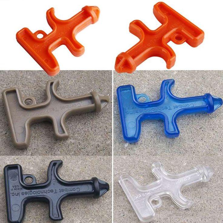 Venta caliente de Nylon Plástico Protección Autodefensa Stinger Duron Taladro Herramienta Llavero Nylon Acero Plástico Arma Herramienta de Combate