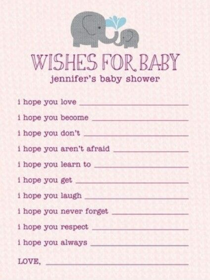 This would be really sweet to show the baby later in their life :D , not really a game ... but something to make the mom to be smile :D