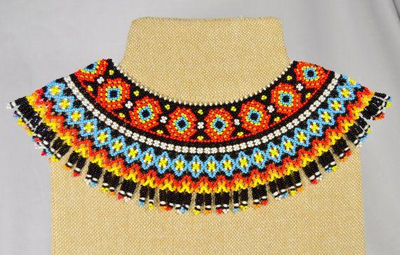 Ethnic handmade Jewelry Beaded NECKLACE Gerdan