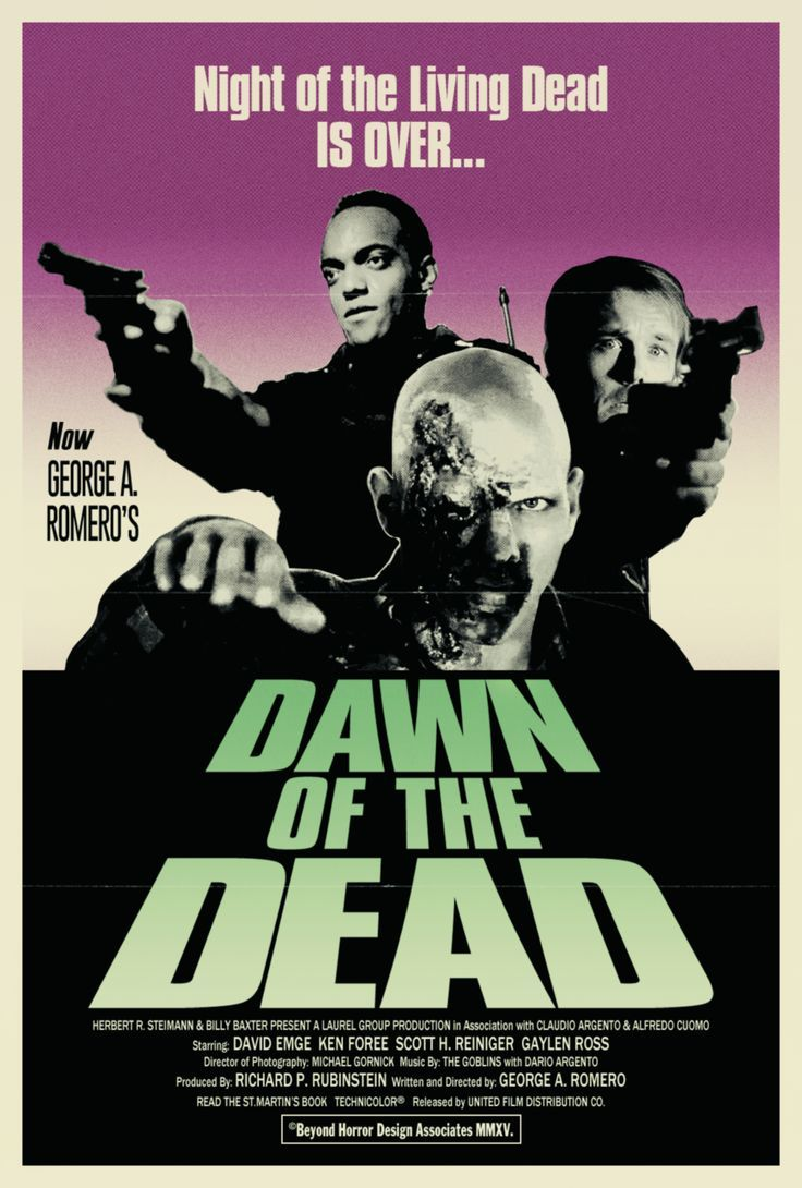 BEYOND HORROR DESIGN DAWN OF THE DEAD A. Romero